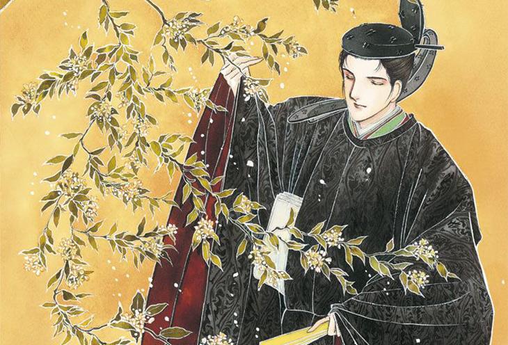 Hikaru Genji from The Tale of Genji, Art by Waki Yamato.