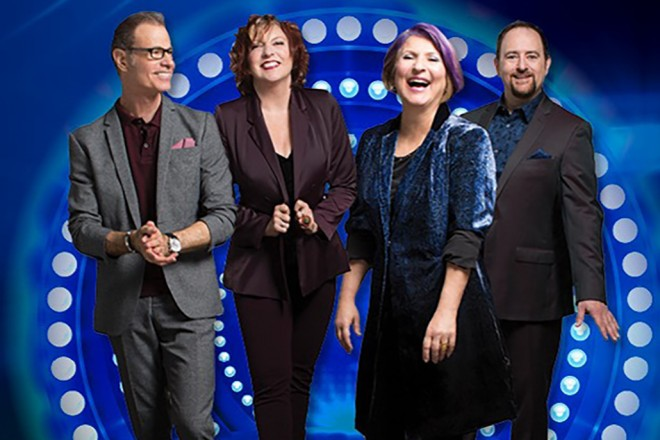 Manhattan Transfer – Presenting the Music of Happiness