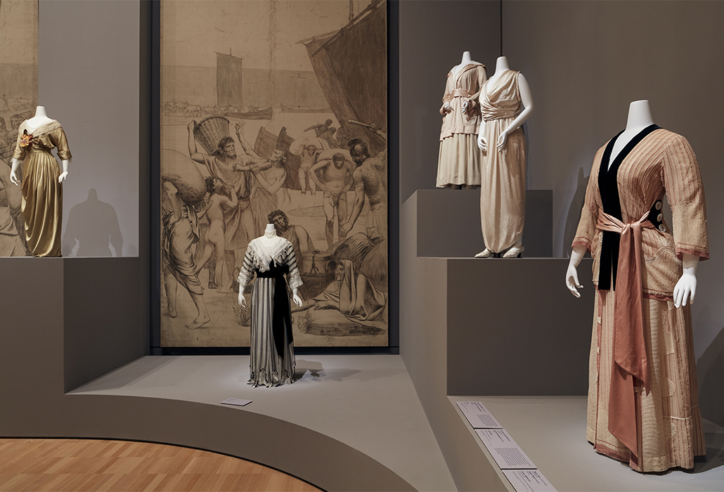 Installation view of Krystyna Campbell-Pretty Fashion Gift, on display at NGV International from 1 March 2018 – 14 July 2019 Photo: Tom Ross