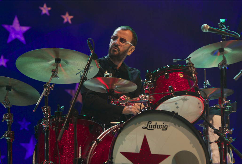 Ringo Starr performs with his All Starr Band at his North American tour launch at Casino Rama in Orillia, Ontario --- Image by © Michael Hurcomb/Corbis