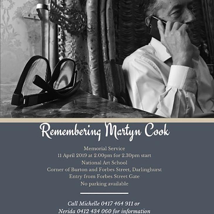 Martyn Cook Memorial Service