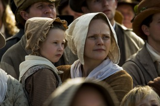 Maxine Peake, features as Nell in Mike Leigh's film Peterloo