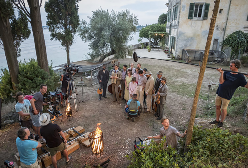 The Durrells, it's a wrap