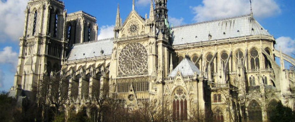 Great Cathedral of Notre Dame, prior to the fire on 15th April, 2019
