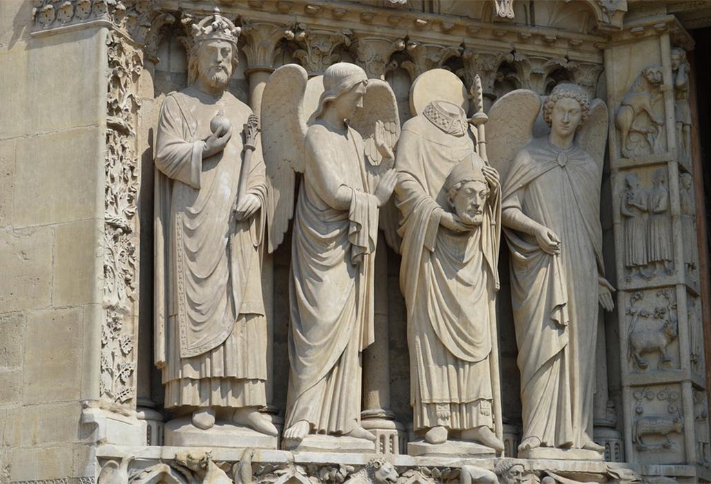 Notre Dame Sculptures