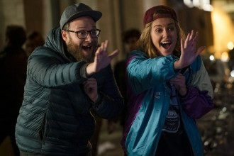 Fred Flarsky (SETH ROGEN) and Charlotte Fields (CHARLIZE THERON) in LONG SHOT. Photo Pillipe Bossé