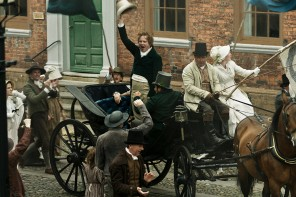 PETERLOO featuring Rory Kinnear as Henry Hunt in courtesy of Amazon Studios.