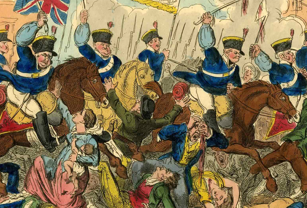 Peterloo Massacre detail