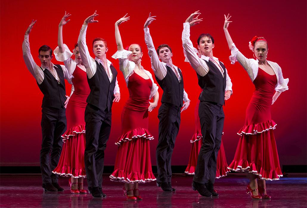 'Alegrias' choreographed by Areti Boyaci. Photo by Sergey Konstantinov.