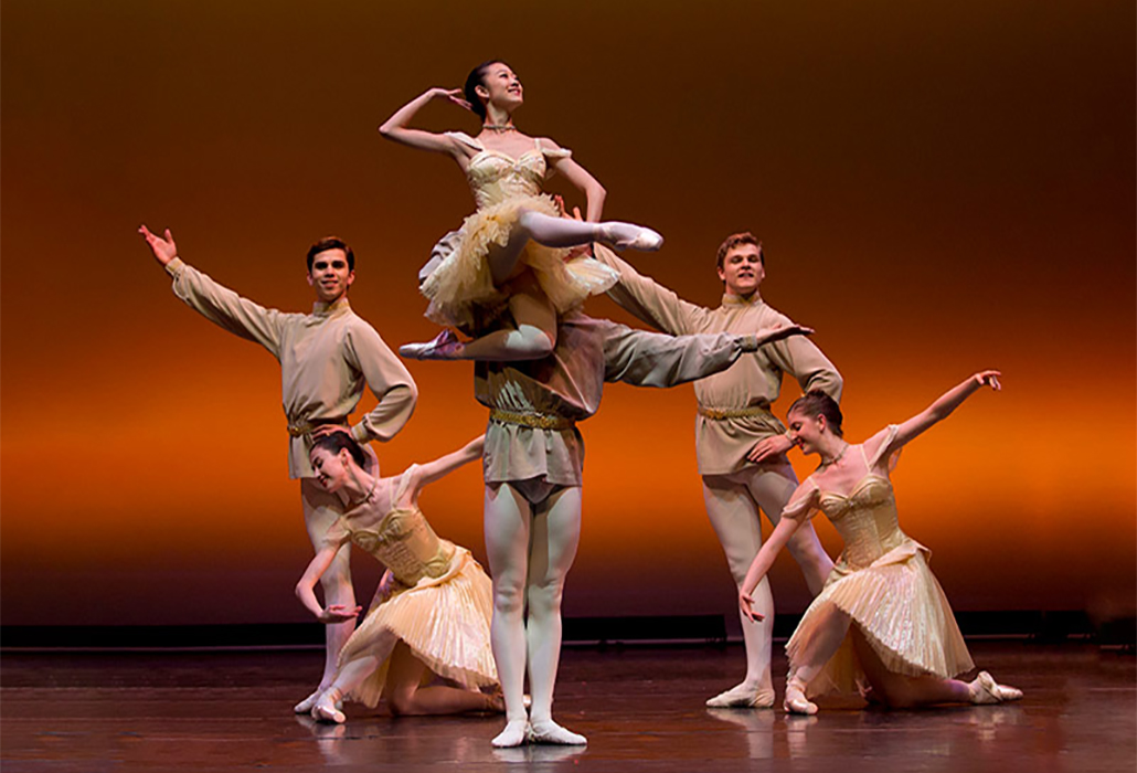 Raymonda Grand Pas, Students Australian Ballet School, Melbourne