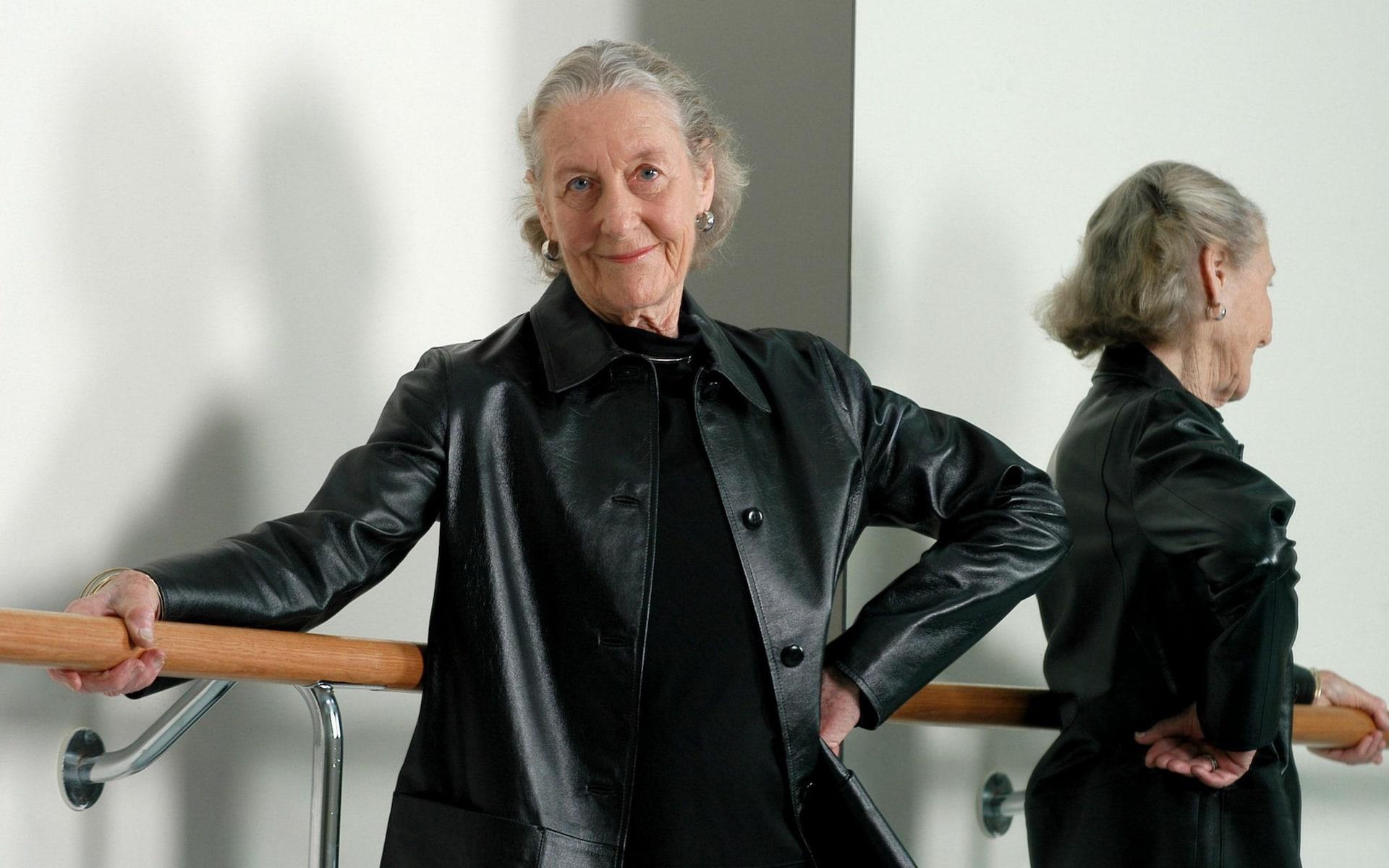 Dame Margaret Scott at the Australian Ballet School in Melbourne in 2004 courtesy THE AGE/FAIRFAX MEDIA