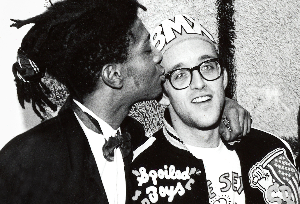 Basquiat and Haring - Naughty Boys