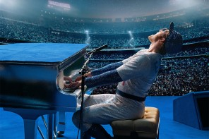 Taron Egerton as Elton John in Rocketman from Paramount Pictures