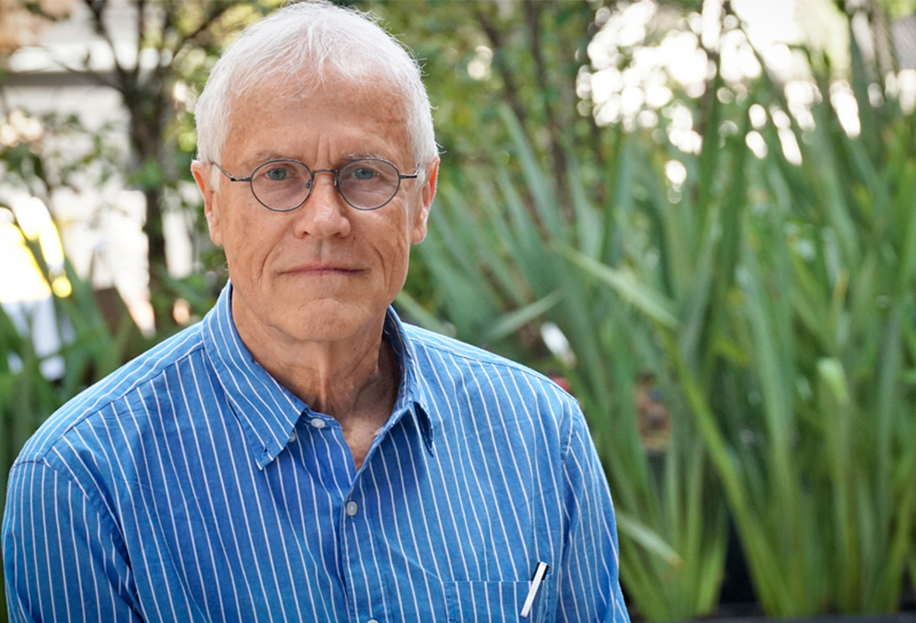 "Paul Hawken, environmentalist and author of ""Drawdown,"" was in São Paulo for the launch of the Portuguese edition of his book (Rodrigo Elizeu/Believe.Earth)"