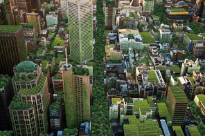 Imagining Melbourne city as green x