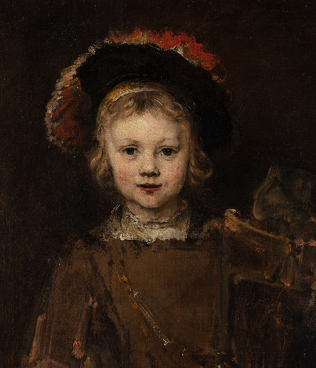 Rembrandt Harmensz. van Rijn (Dutch, 1606–1669)  Portrait of a Boy, about 1655–60. Oil on canvas, 25 1/2 x 22 1/2 in. (64.8 x 55.9 cm). The Norton Simon Foundation, Pasadena, F.1965.