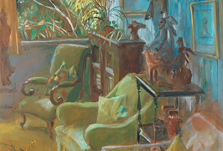 Margaret Olley / Interior IV (detail) 1970 / Gift of the Margaret Olley Art Trust through the QAGOMA Foundation 2002 / Collection: QAGOMA / © Margaret Olley Art Trust