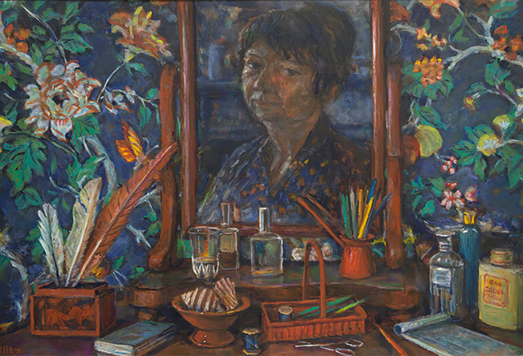 Margaret Olley Bedroom still life 1997