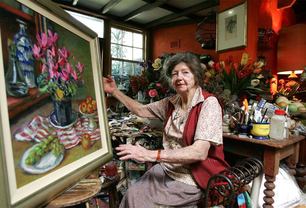 Margaret Olley At HOme
