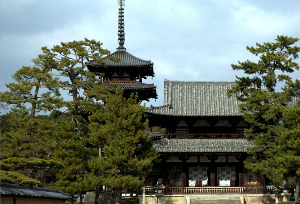 Horyuji Temple, Nara Prefecture Japan,