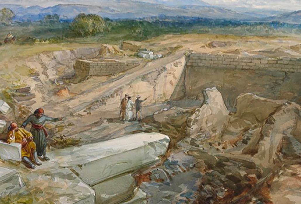 Excavating Troy