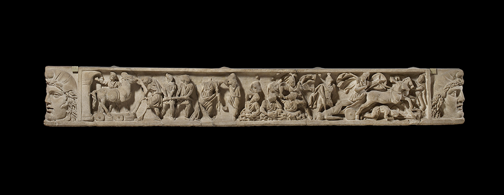 Sarcophagus Lid Troy