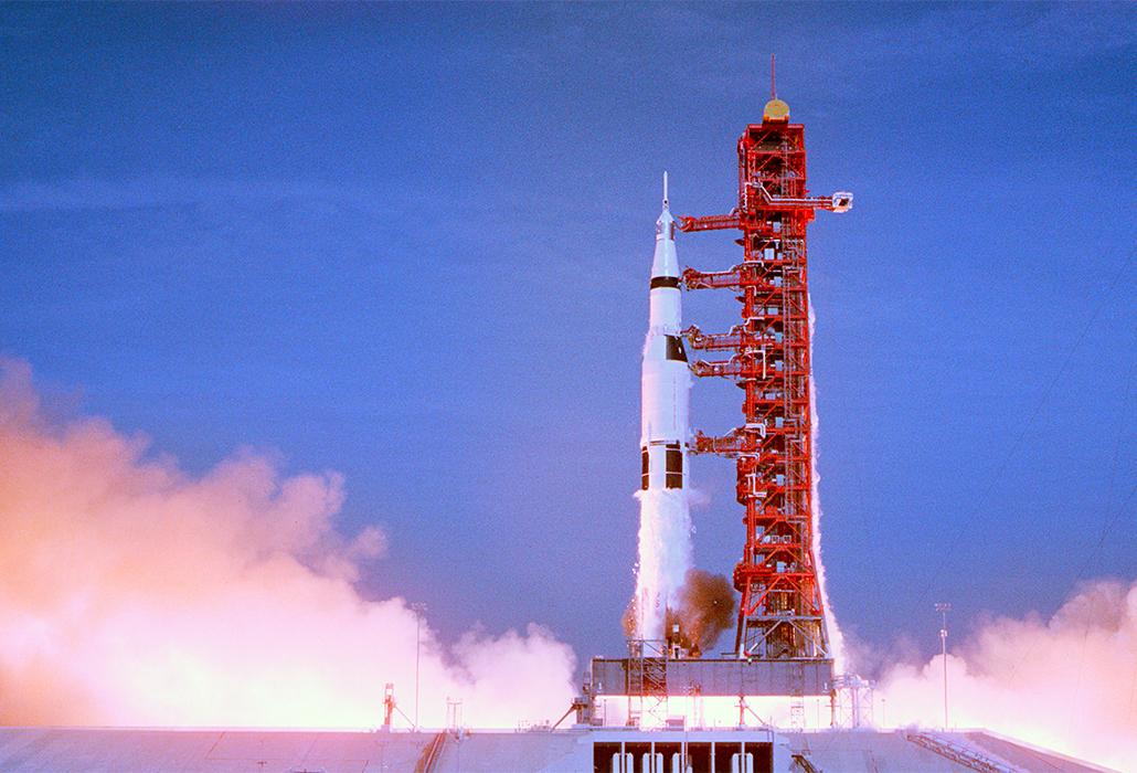 Lift Off Apollo 11