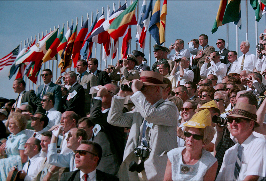 Crowd Watching Apollo 11