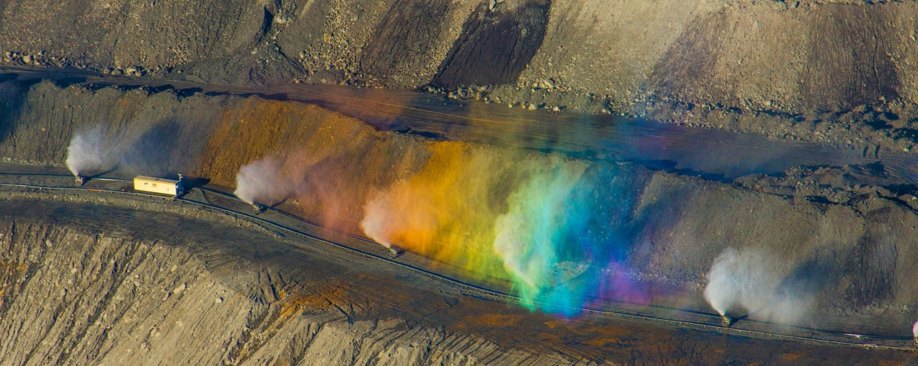 Mining Aerial Helicopter Image Australia