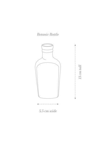 Botanic Bottle Product Diagram B