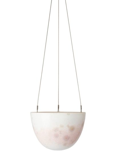 Crystalline Hanging Planter Pink Small