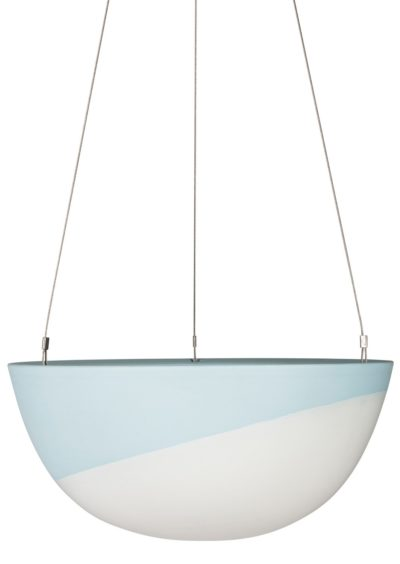 Minimal Hanging Planter Large Blue