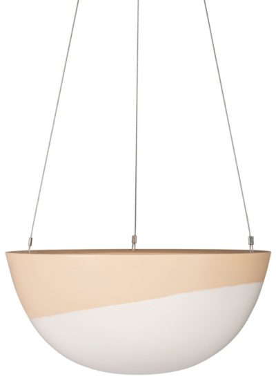 Minimal Hanging Planter Large Cinnamon