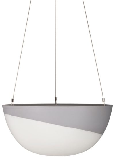 Minimal Hanging Planter Large Grey