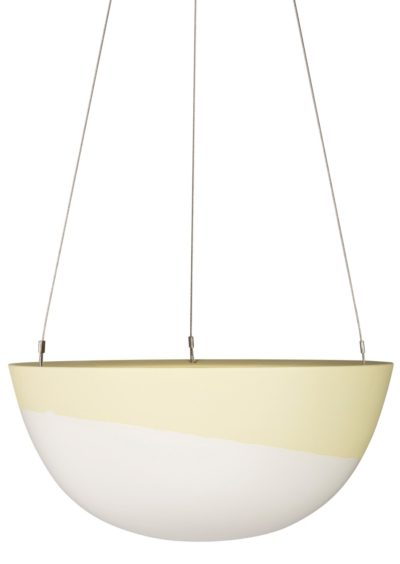 Minimal Hanging Planter Large Lemon