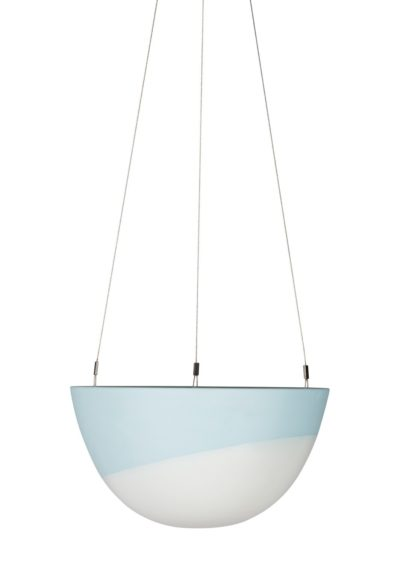 Minimal Hanging Planter Medium Blue