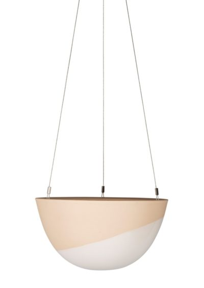 Minimal Hanging Planter Medium Cinnamon