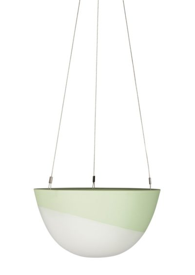 Minimal Hanging Planter Medium Green