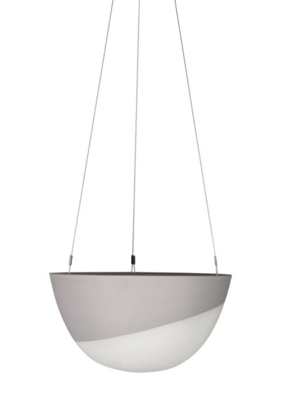 Minimal Hanging Planter Medium Grey