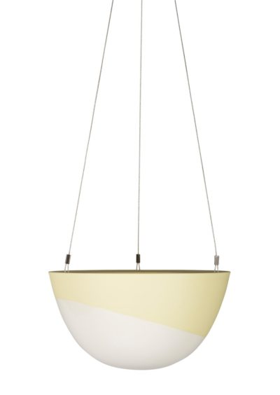 Minimal Hanging Planter Medium Lemon