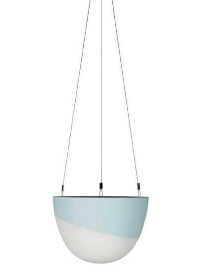 Minimal Hanging Planter Small Blue