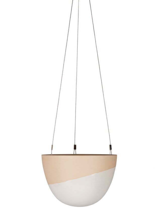 Minimal Hanging Planter Small Cinnamon