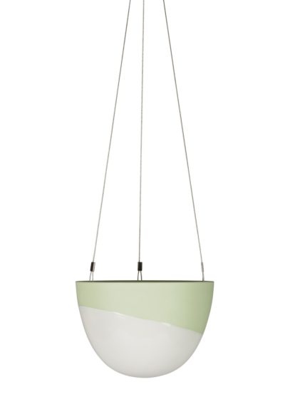 Minimal Hanging Planter Small Green