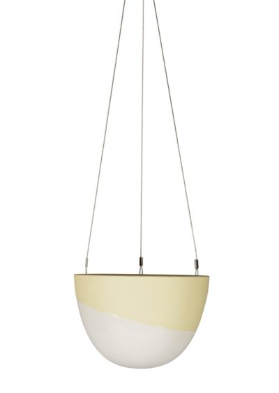 Minimal Hanging Planter Small Lemon