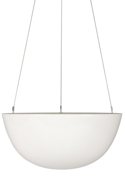 White Hanging Planter Large