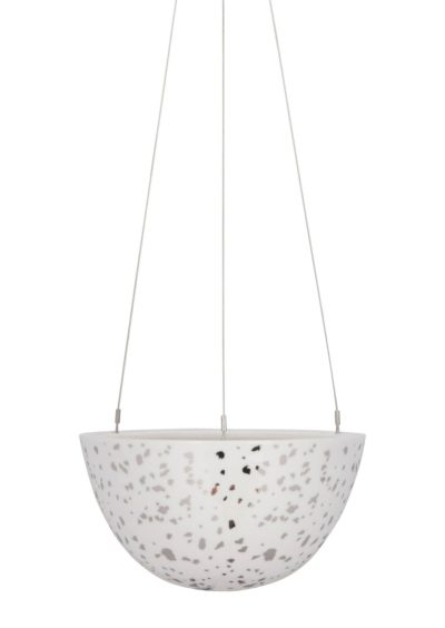 Hanging Planter Medium Silver Night Sky