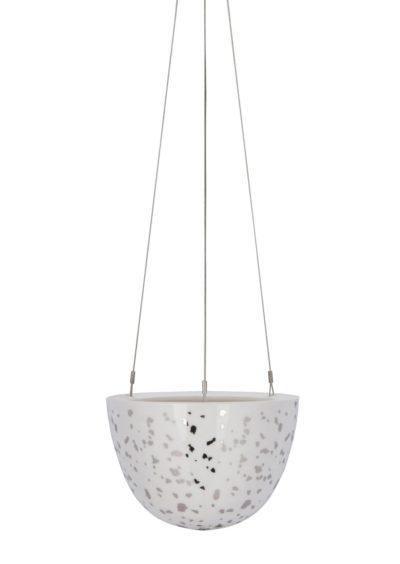 Hanging Planter Small Silver Night Sky
