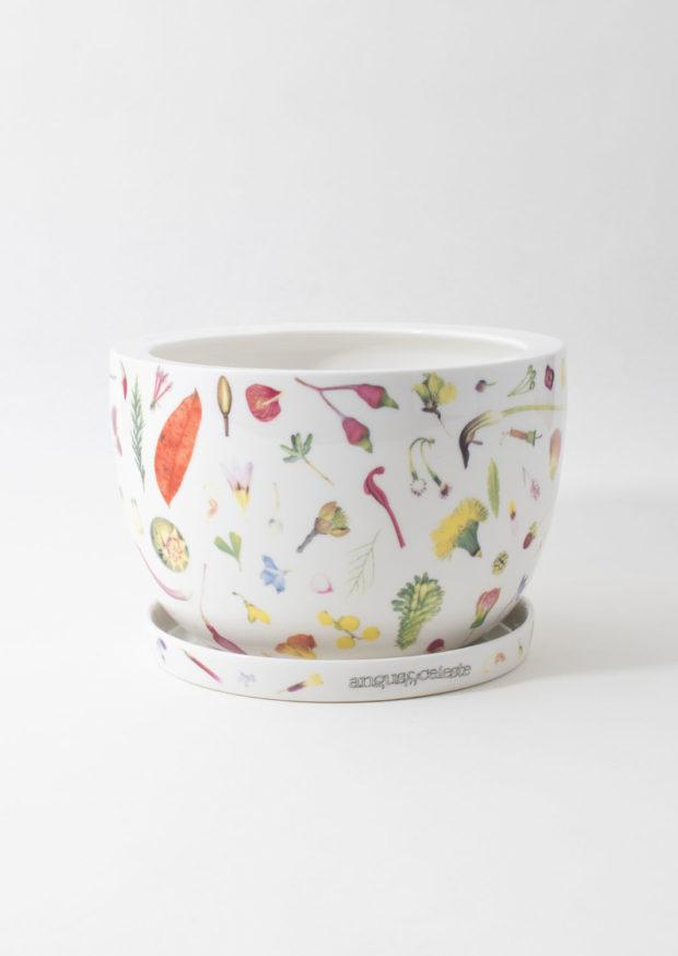 Decorative Plant Pot Floral Forager