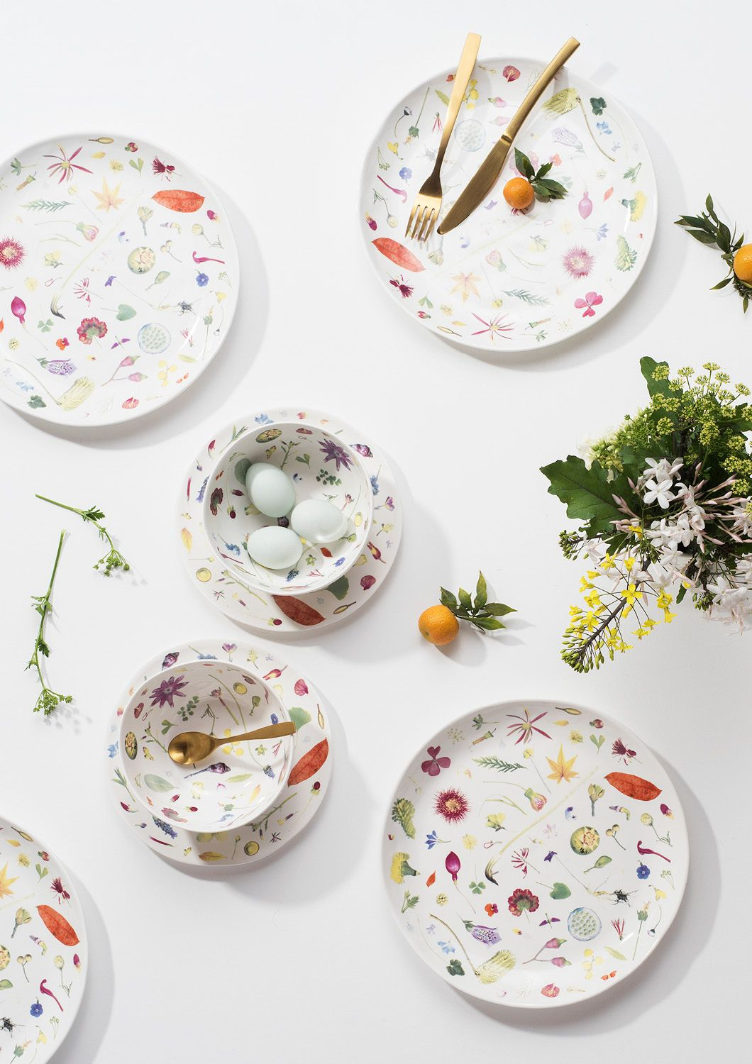 Angus & Celeste Floral Forager Dinnerware