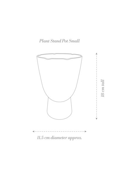 Plant Stand Pot Small Product Diagram